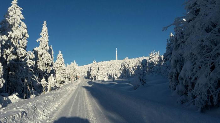 Brocken im Winter